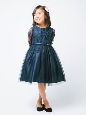 Sweet 3-4 Lace Sleeve Dress